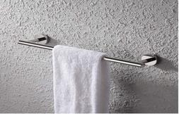 24-Inch SUS 304 Stainless Steel Towel Bar, Wall Mount, Polis