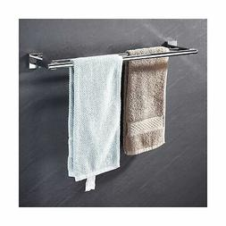 bathroom double towel bar sus 304 stainless