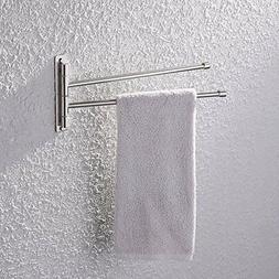 bathroom swing arm towel bars