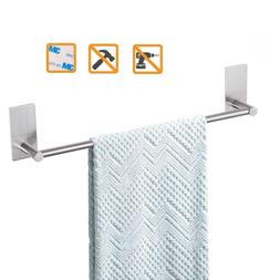 Bathroom Towel Bar 12inch Easy Install With Self-Adhesive Ra
