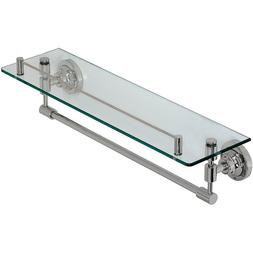 Classical Design Polished Chrome Glass Shelf | Premium Quali