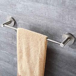 Mellewell Contemporary 12-Inch Towel Bar Wall Mounted Bathro