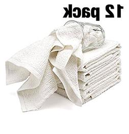 Bar Mop Cleaning Kitchen Dish Cloth Towels,100% Cotton, Mach