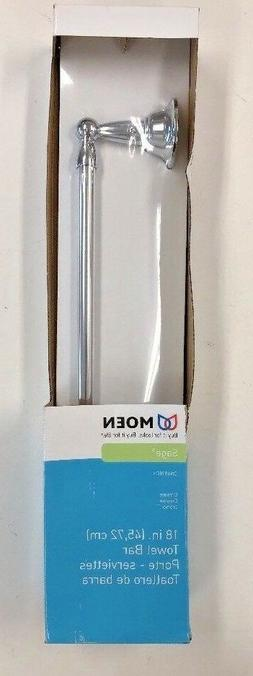 Moen DN6818CH Sage Inspirations 18-Inch Towel Bar, Chrome NI