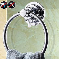 BOPai Drill Free Powerful Vacuum Suction Cup Towel Ring Show