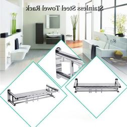 Durable Stainless Steel Wall Mounted Towel Rack Bath Towel B