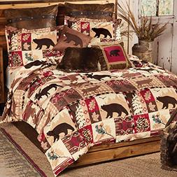 Black Forest Decor Durango Wildlife Bed Set - King