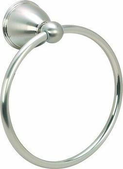 Hardware House 38-7811 Highland Towel Ring Satin Nickel