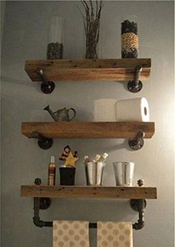 WGX Design For You Industrial Pipe Shelving Shelves Bookcase