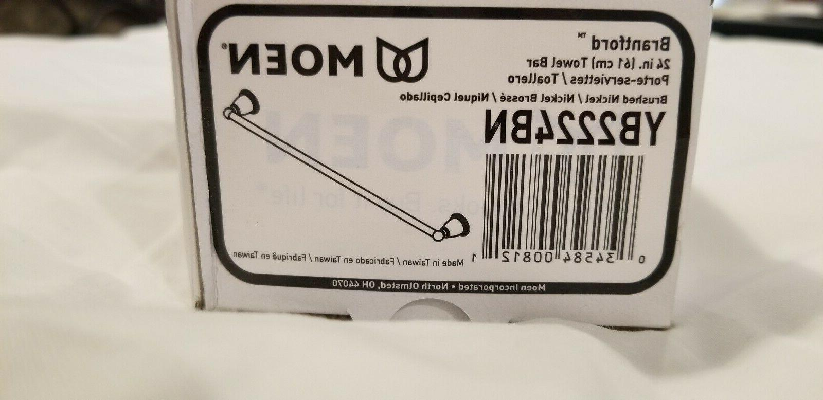 "Moen 24"" Towel Bar Item# Brantford Collection"