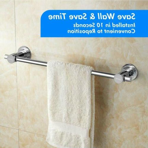 24 inch Vacuum Cup Towel Rack bathroom