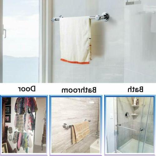 24 Vacuum Suction Cup Removeable Towel Rack Holder bathroom