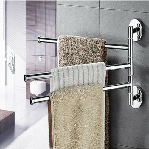 US Stainless Bar Rotating Bathroom Kitchen Towel