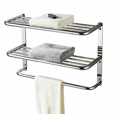 3-Tier Wall Mounting with Towel Extra Long