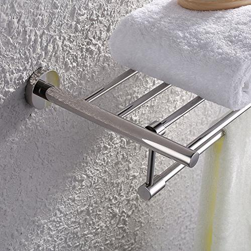 KES Bath Rack with SUS Stainless RUSTPROOF Finish,