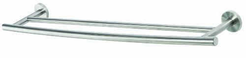 Amerock BH26545-SS 24 in. Double Towel Bar - Stainless Steel