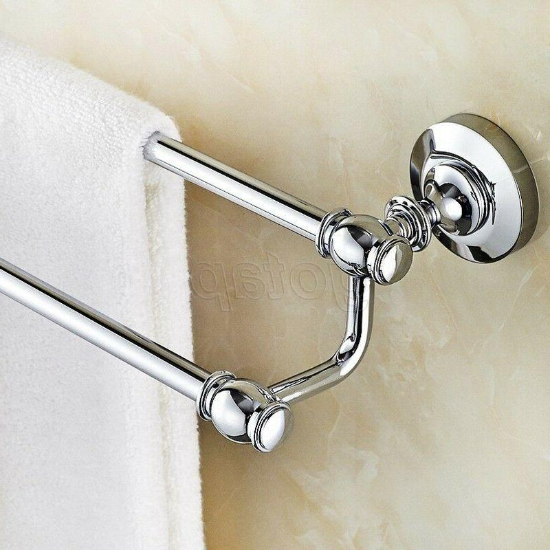 Chrome Bath Double Holder