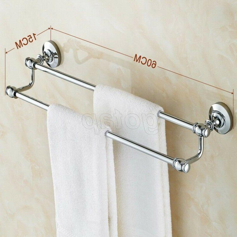 Chrome Bath Holder Rack
