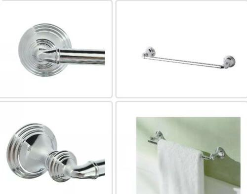 "KOHLER K-10550-CP Devonshire 18"" Towel Bar- New In Open Bo"