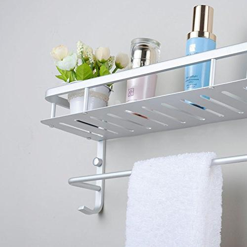 modern aluminum double layer towel