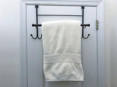 Over Door Hook with Towel Oil