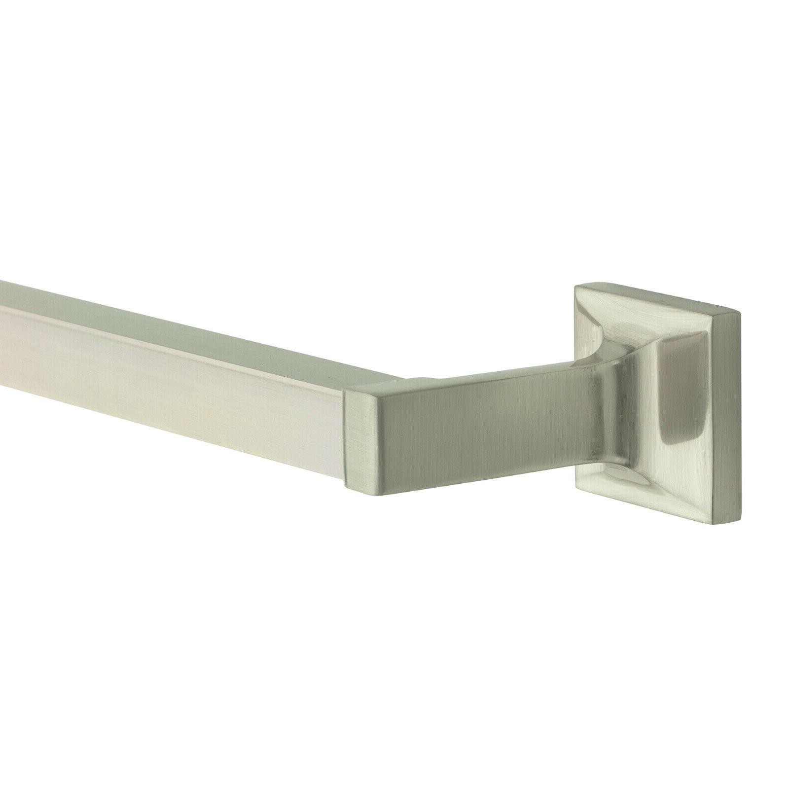 Redwood Bar Bath Bathroom Accessory, Brushed Nickel