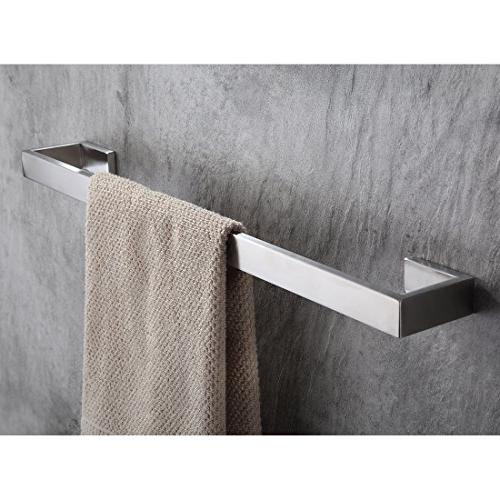 Fapully Steel Accessories Hardware Towel Bar Finished