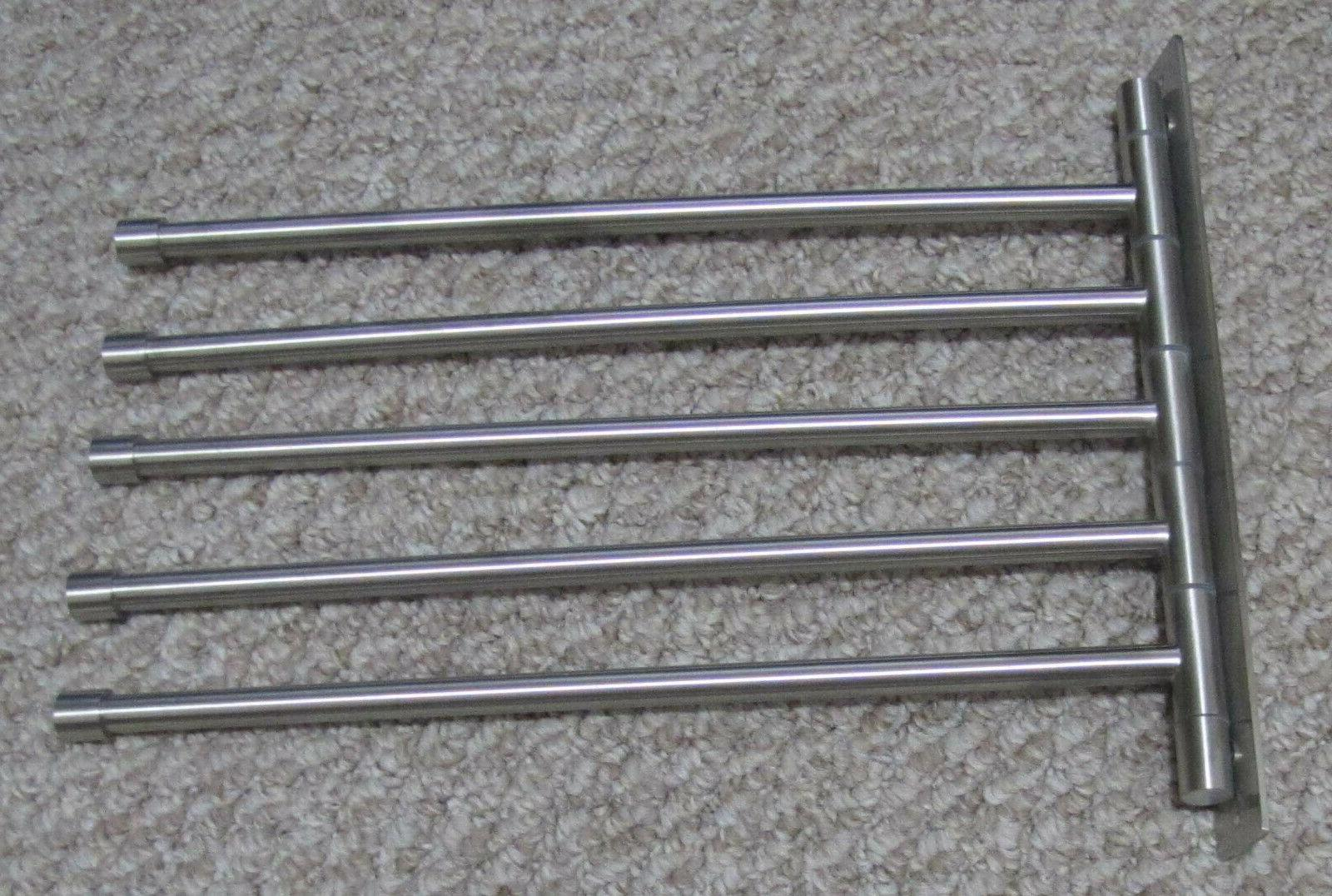 stainless steel swing out towel bar 5