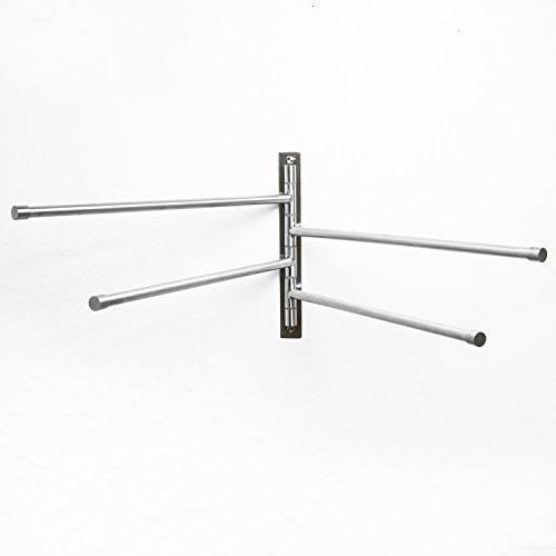 Swing Out - Stainless Steel Saving Swinging for Wall Mounted with Arms- To - Finish