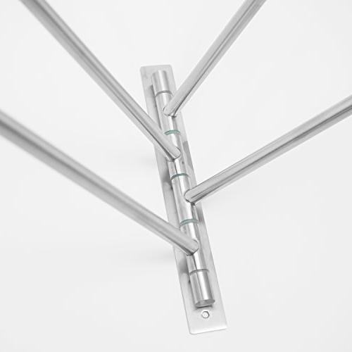 Swing Out Towel - Stainless Swivel Towel - Saving Swinging Bar for - Mounted with To Install - Finish