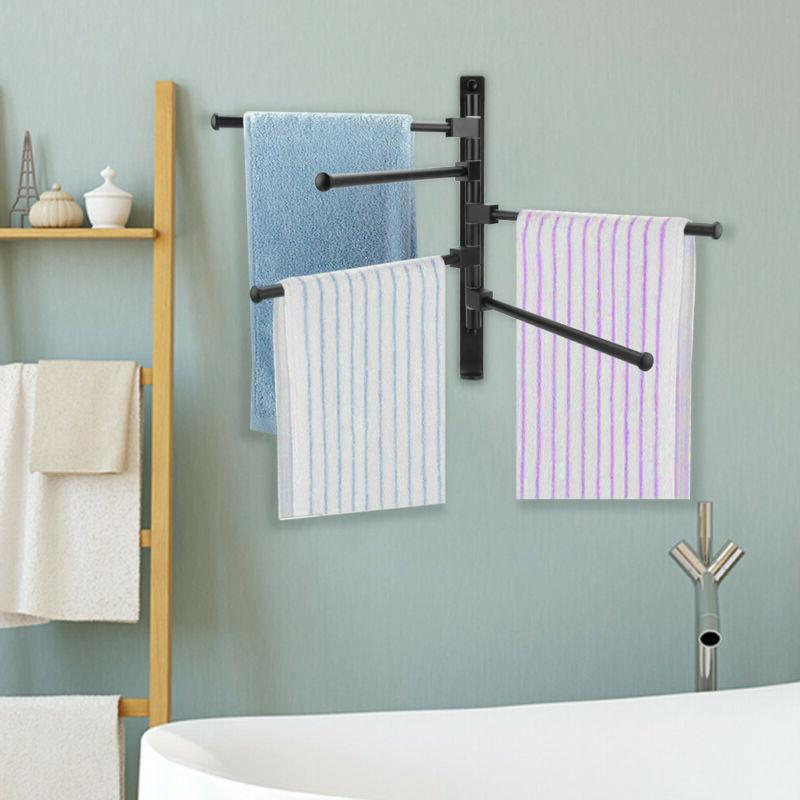 Swivel Holder Swing Rack Hanger Bathroom