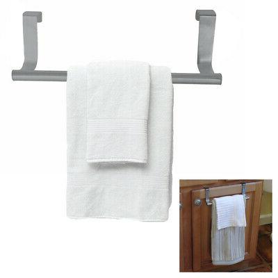 towel bar rack in out door kitchen