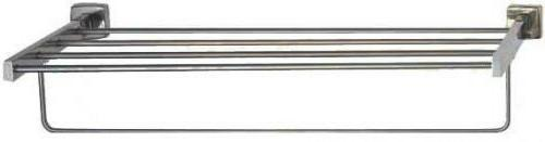 Towel bar with rack/shelf Great for swimming area or lau