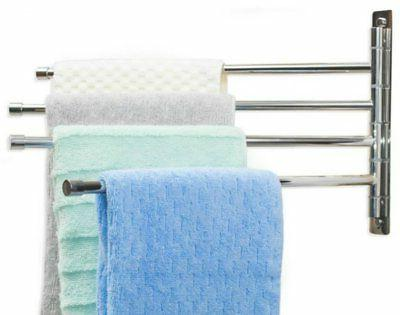 swing arm towel bar