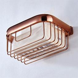 LAONA European-style rose gold-copper minimalist bathroom ac