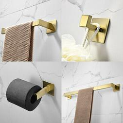 Modern Bath Accessories Set Bathroom Hardware Towel Bar Ring