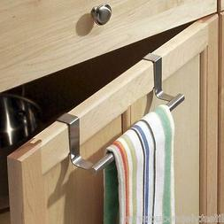 NEW INTERDESIGN STAINLESS STEEL OVER CABINET & DRAWER TOWEL