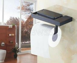 Oil Rubbed Bronze Wall Mount Toilet Paper Holder Roll Tissue