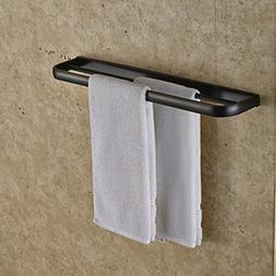 Rozin Oil Rubbed Bronze Double Towel Bars Wall Mounted Towel