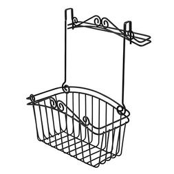 Spectrum Diversified Scroll Cabinet Towel Bar Basket, Large,