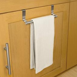 New Stainless Steel Over The Cabinet Door Expandable Towel B