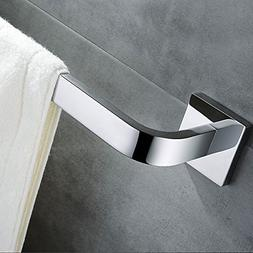 Leyden TM Wall Mounted 304 Stainless Steel Square Single Tow