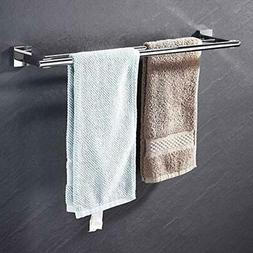 Towel Bar, Holder With Two Rod  Wall