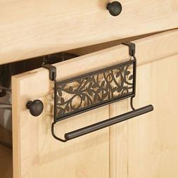 InterDesign Vine Over-the-Cabinet Kitchen Dish Towel Bar Hol