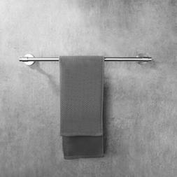 Wall Mounted Bathroom Double Towel Bar Shelf Towel Holder Ba